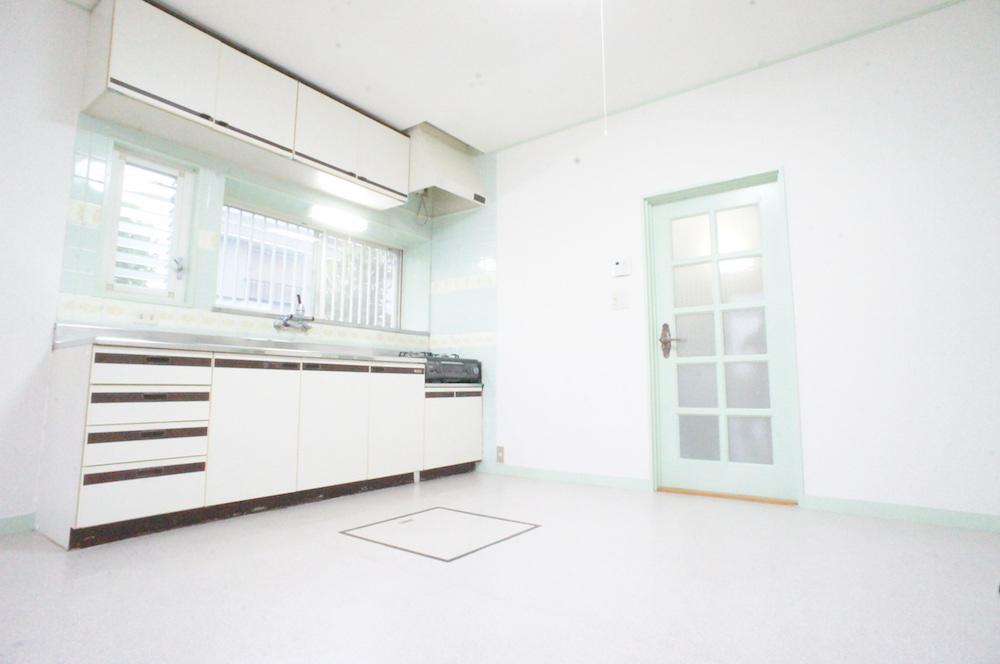 アパート1キッチン